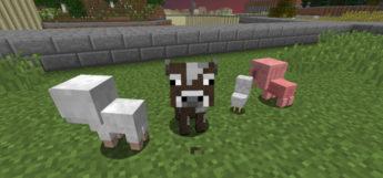 Crops Animals Minecraft mod preview