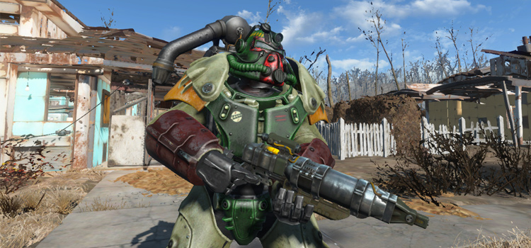 BobaFett armor mod for Fallout4