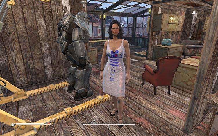 R2D2 Dress mod