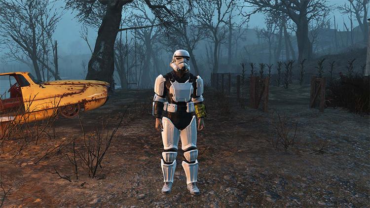 Stormtrooper Combat Armour FO4 mod