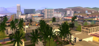 San Andreas GTA cityscape screenshot