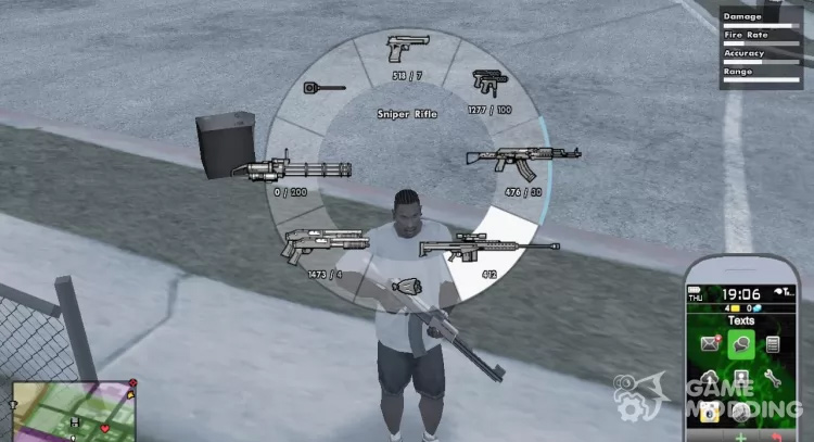 GTA V Hud for San Andreas
