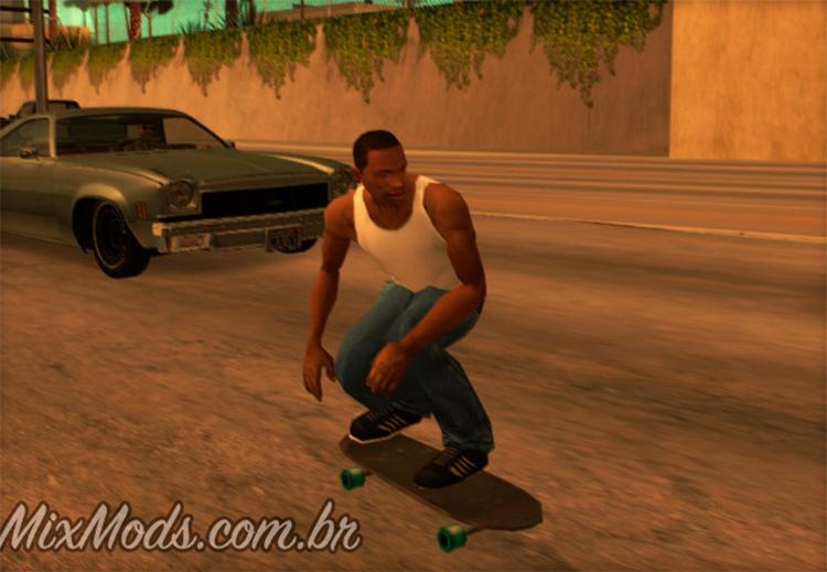 Skateboard Mod San Andreas