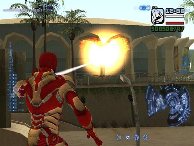 Iron Man Mod San Andreas