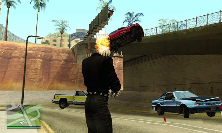 Ghost Rider Mod SA