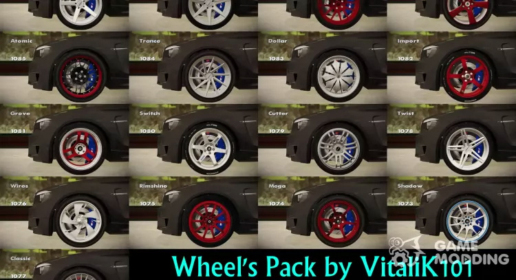 Wheels Pack San Andreas