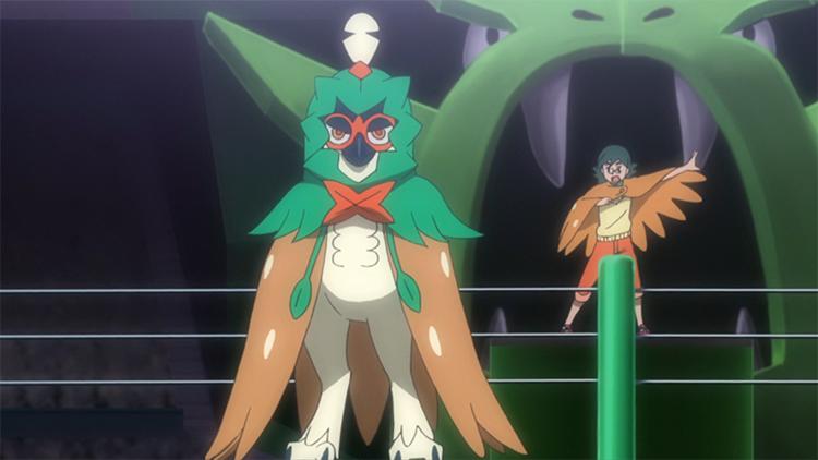 Decidueye in the anime