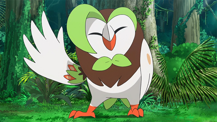 Dartrix in the anime