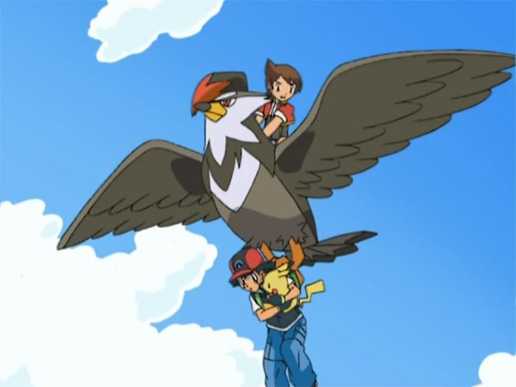 Staraptor in the anime