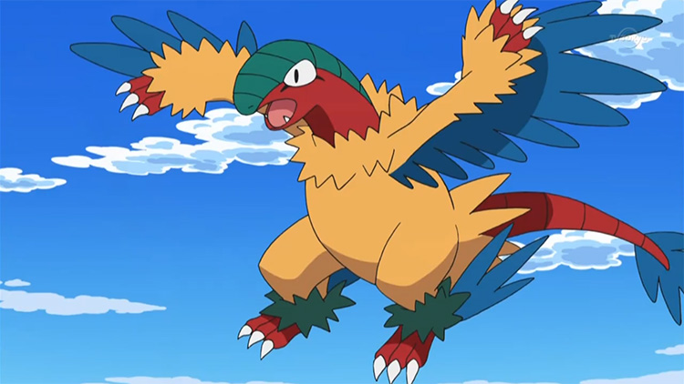 Archeops in the anime