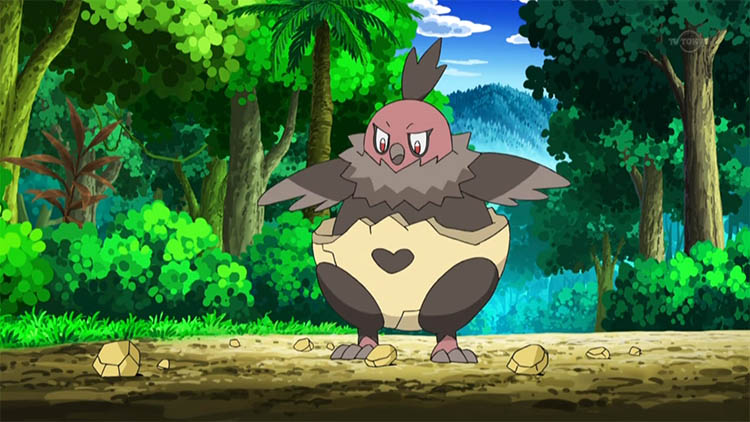 Vullaby in the anime