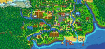 Stardew Valley map expanded mod