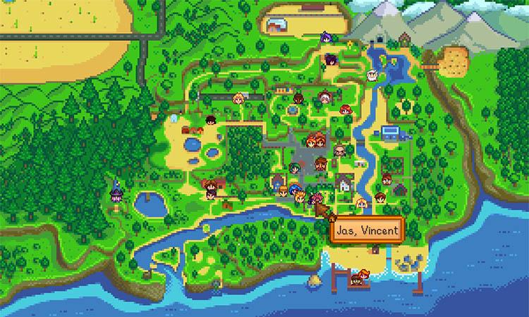 NPC Map Location Mod