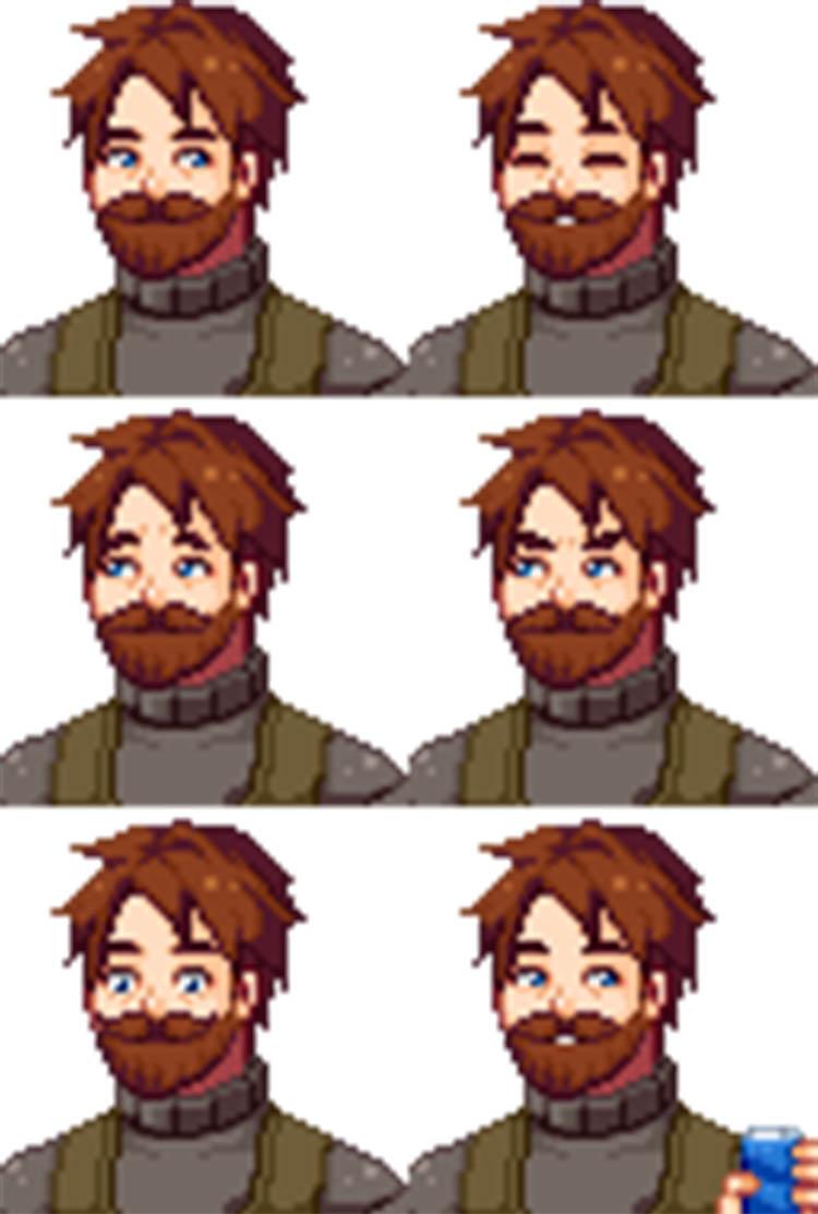 Villagers Anime Portrait Mod