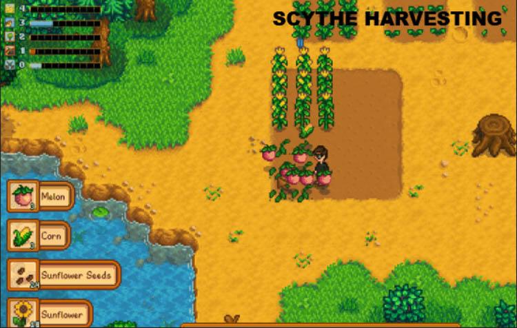 Scythe Harvesting 2.0 Mod