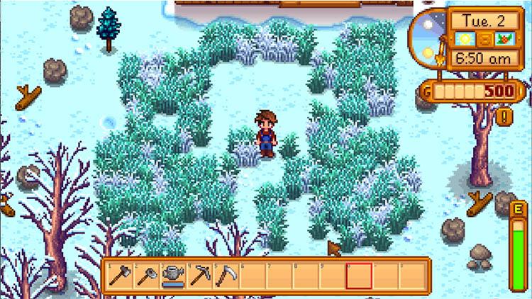 Winter Grass Mod