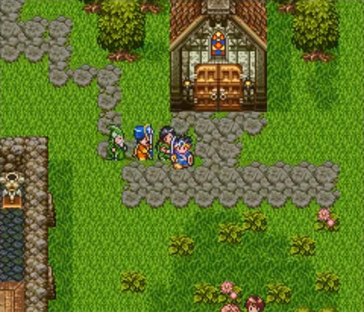 Dragon Quest III Game screenshot