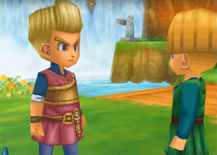 Dragon Quest IX (2010) Game screenshot