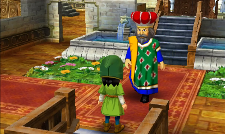 Dragon Quest VII (2001) Game screenshot
