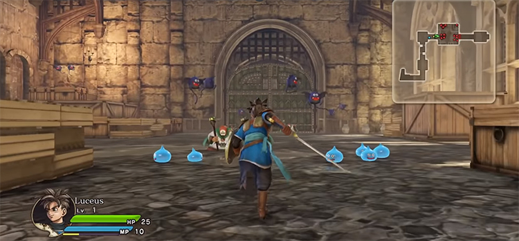 Dragon Quest Heroes Game screenshot
