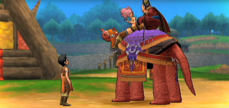 Dragon Quest X Game screenshot
