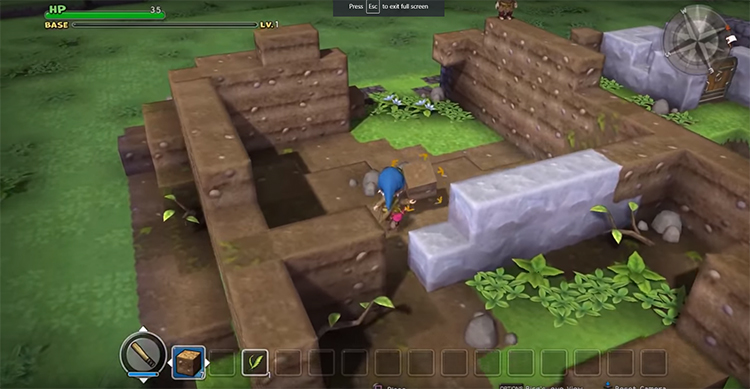 Dragon Quest Builders Game screenshot