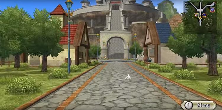 Dragon Quest Swords Game screenshot