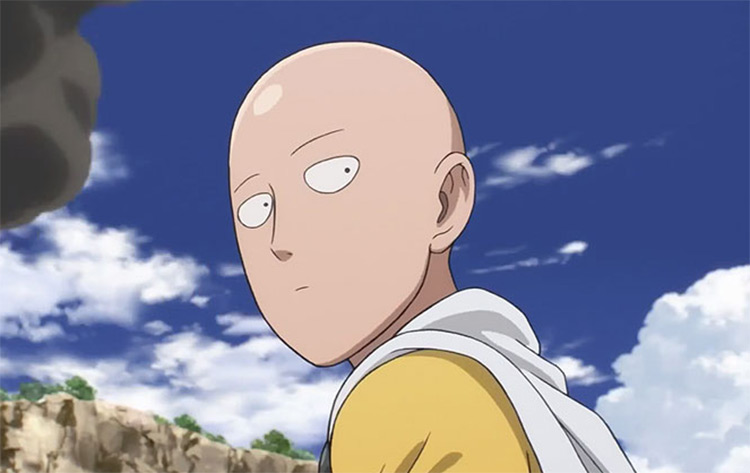 Saitama, best bald anime character ever