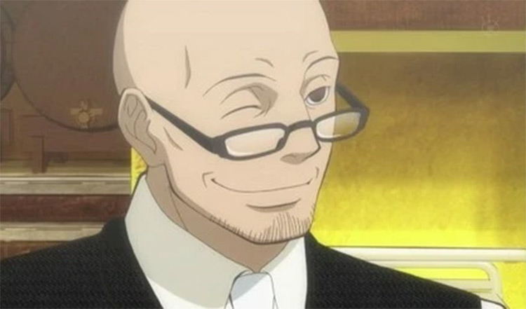 Vito bald character in anime