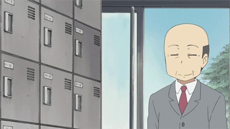 Principal Shinonome anime