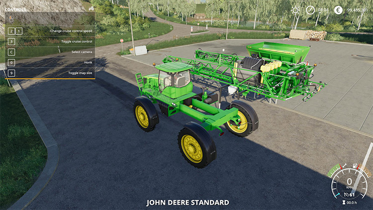 John Deere 4730 Versao Sul Americana Mod for Farming Simulator 19