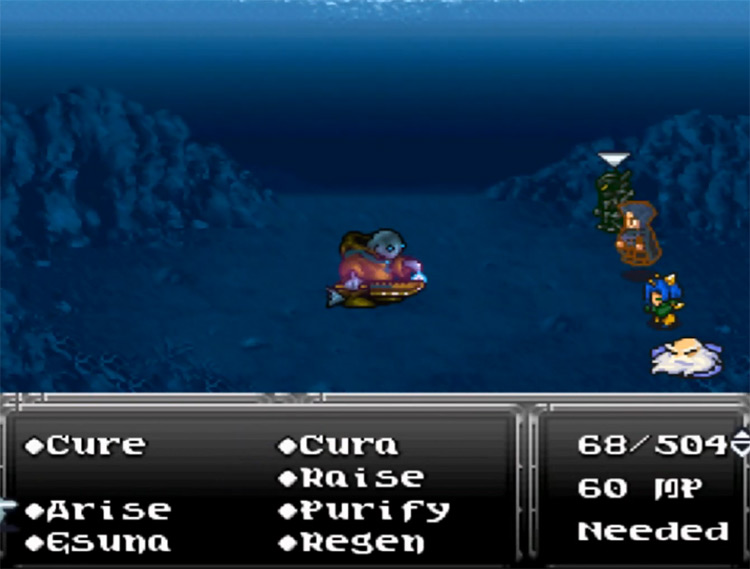 Celestriad in Final Fantasy VI