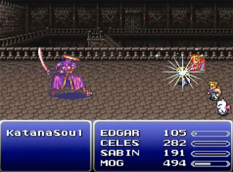 Miracle Shoes in FFVI