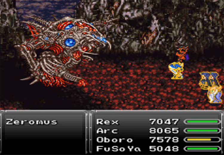 Merit Award in Final Fantasy VI