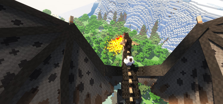 Ice and Fire Dragons Mod - Minecraft Preview