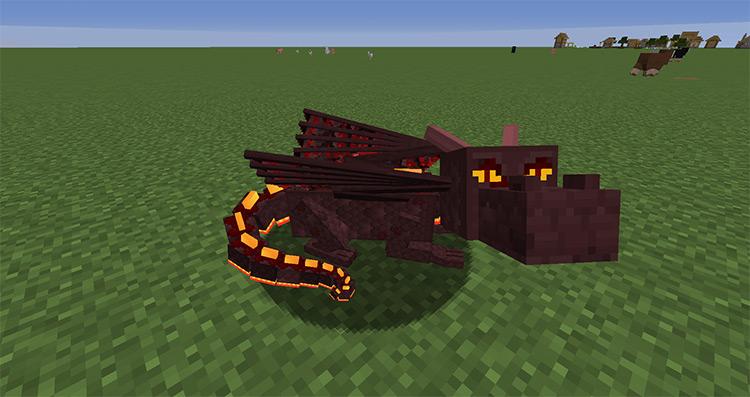 Dragon Mounts: Legacy Minecraft mod