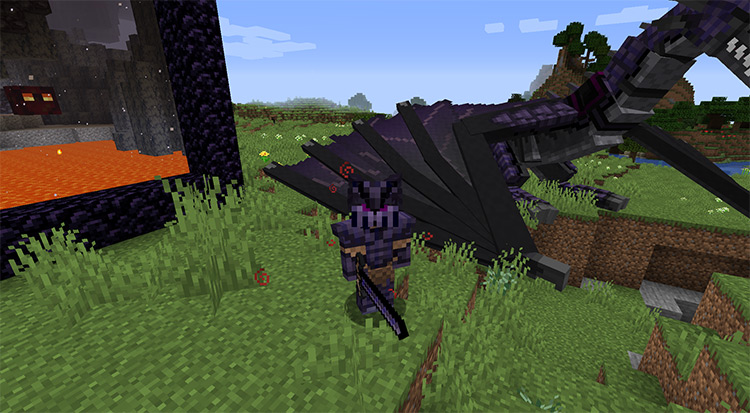 Dawn of Fire mod for Minecraft