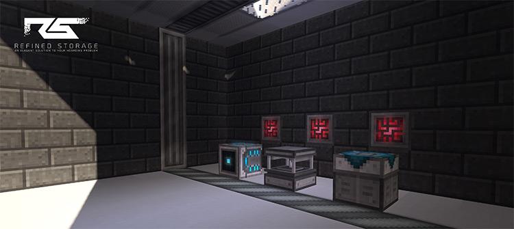 Refined Storage mod for Minecraft