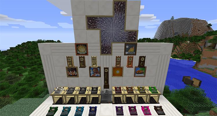 Bibliocraft Minecraft mod screenshot