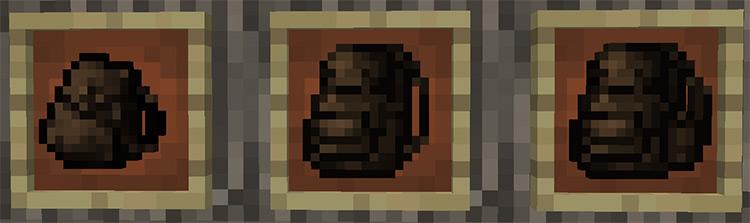 Useful Backpacks mod for Minecraft