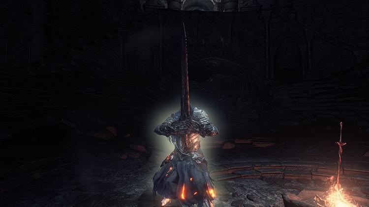 Black Knight Sword in DS3