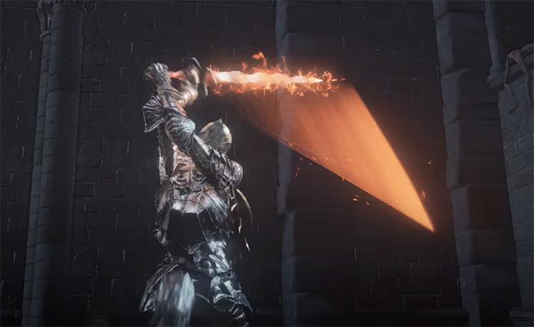 Firelink Greatsword from Dark Souls 3