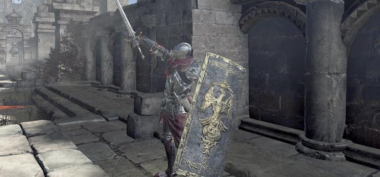 Cathedral Knight Greatshield Build - Dark Souls 3 Screenshot