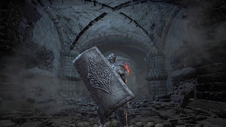 Lothric Knight Greatshield from Dark Souls 3