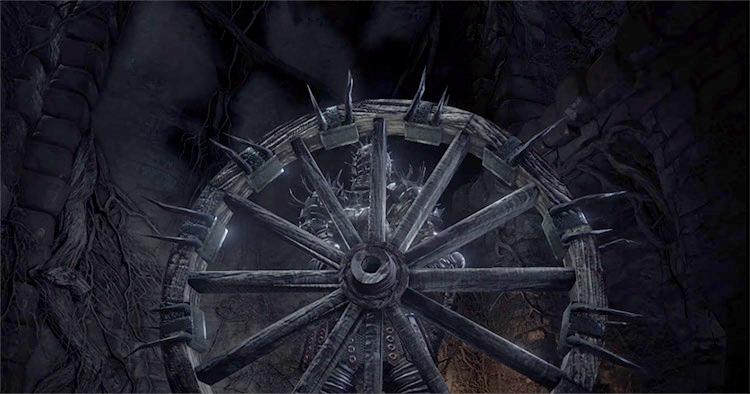 Bonewheel Shield from Dark Souls 3