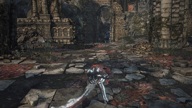 Exile Greatsword from Dark Souls 3
