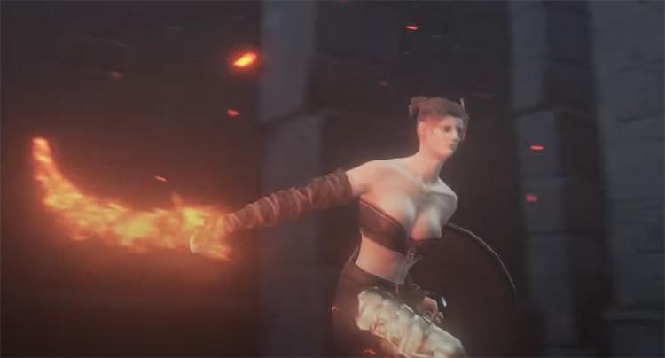 Demon's Scar from Dark Souls 3