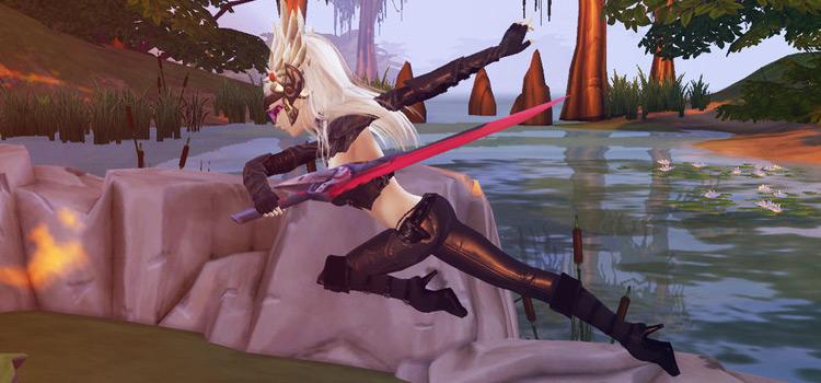 Fiora Sword Female Sim Samurai