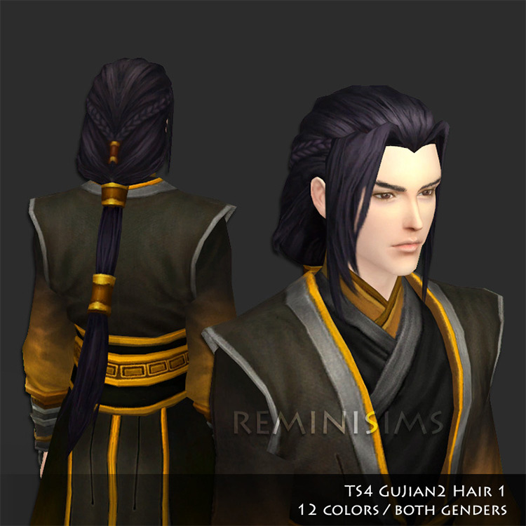 Guijan Hair Sims 4 CC