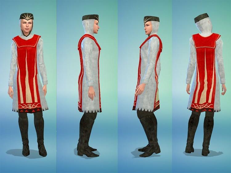 Chanter Robe for Sims 4